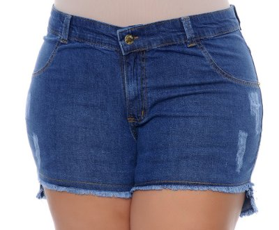 Shorts Jeans Plus Size Eiza