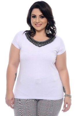 Blusa Plus Size Odmara