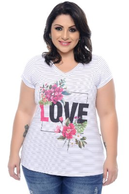 T-shirt Plus Size Maha