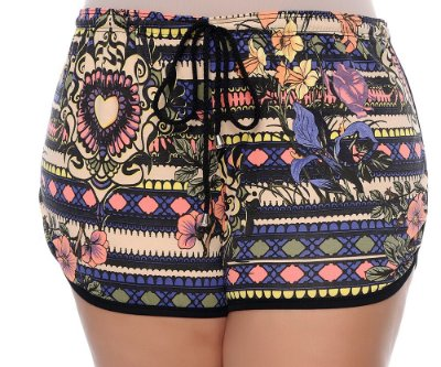 Shorts Plus Size Young