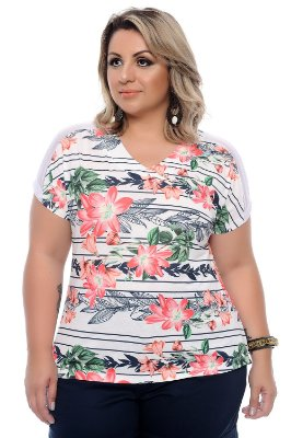 t-shirt Plus Size Nenah