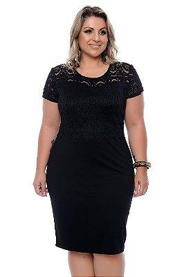 Vestido Plus Size Helbia