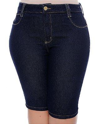 Bermuda Jeans Plus Size Gracyne