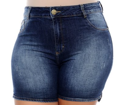 Shorts Jeans Plus Size Hálima