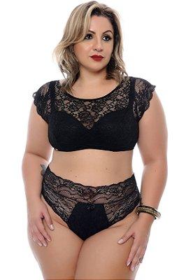 Conjunto Lingerie Plus Size Shira