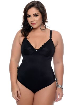 Modelador Plus Size Ivy