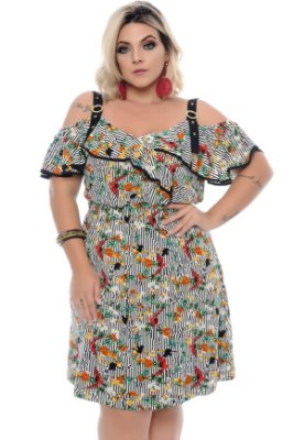 Vestido Plus Size Allie