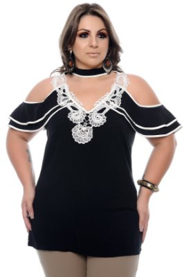 Blusa Plus Size Jhelly