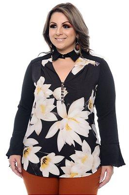 Camisa Plus Size Juanna