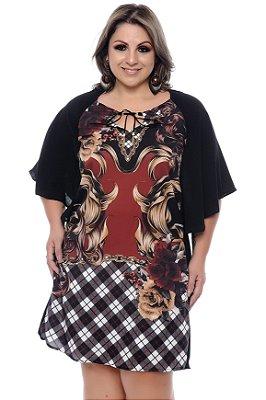 Vestido Kaftan Plus Size Judy