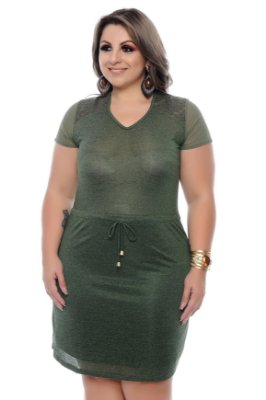 Vestido Plus Size Eloina