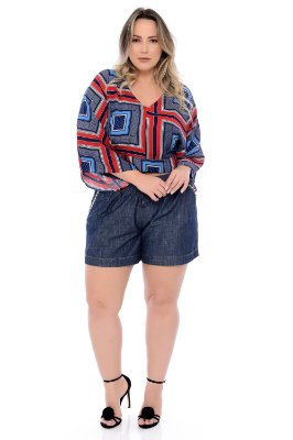 Shorts Jeans Plus Size Bessie