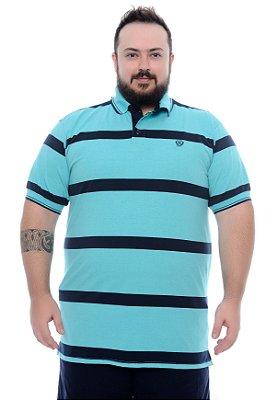 Camisa Polo Masculina Plus Size Jasper
