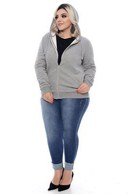 Blusa Moletom Plus Size Marlyne