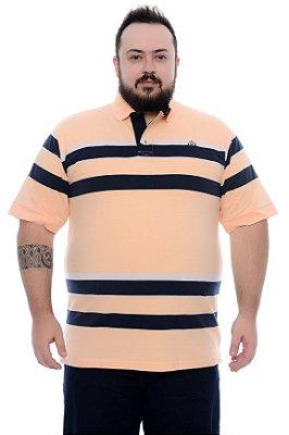 Polo Masculina Plus Size Amiel