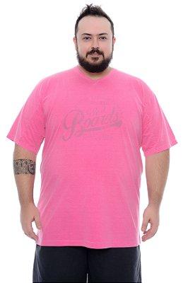 Camiseta Masculina Plus Size Aran