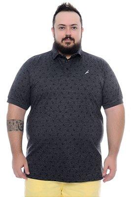 Camisa Polo Masculina Plus Size Adiel