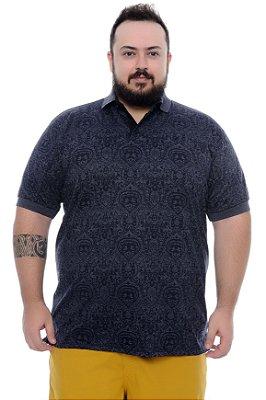 Camisa Polo Masculina Plus Size Airon