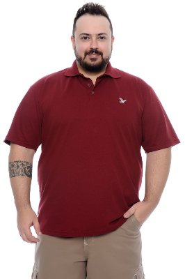 Camisa Polo Sortida Plus Size Johny