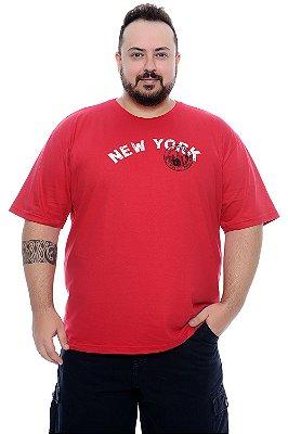 Camiseta Masculina Plus Size Eder