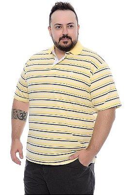 Camisa Polo Sortida Plus Size Eliab