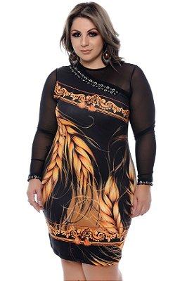 Vestido Plus Size Rhea