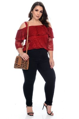 Blusa Plus Size Lilith