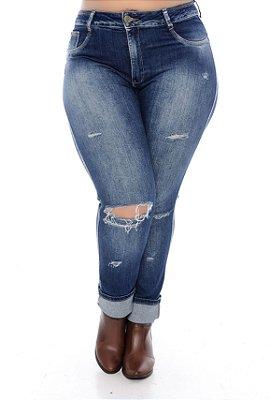 Calça Jeans Plus Size Trini