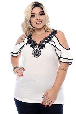 Blusa Plus Size Karlye