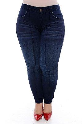 Calça Jeans Skinny Plus Size Tracy