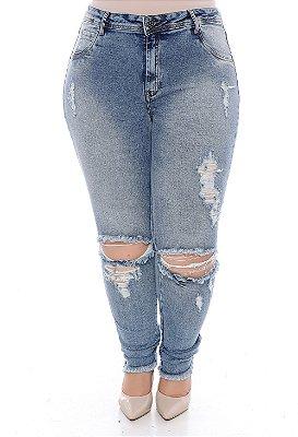 Calça Jeans Skinny Plus Size Zaccarini