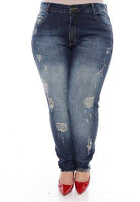 Calça Jeans Plus Size Carthia