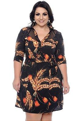 Vestido Chemise Levedos Plus Size Sabrina