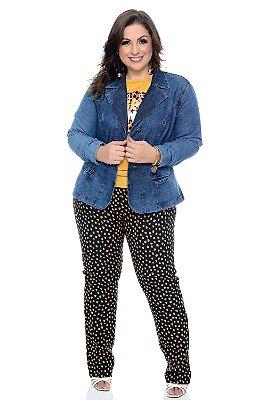 Blazer Jeans Plus Size Triss