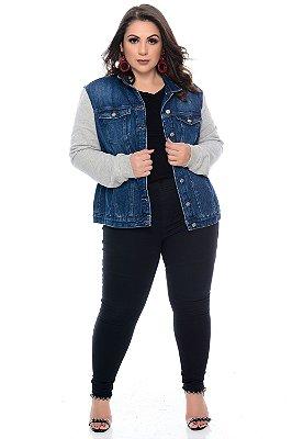 Jaqueta Jeans Plus Size Joselita