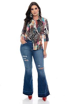 Calça Jeans Plus Size Wladis