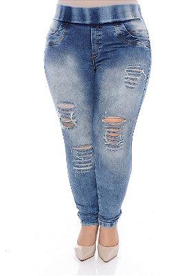 Calça Jeans Plus Size Penina