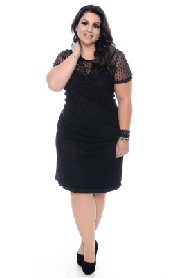 Vestido Plus Size Nabih