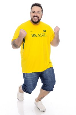 Camiseta Plus Size Copa do Mundo