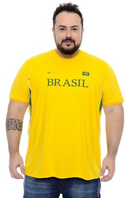 Camiseta Masculina Plus Size Alex