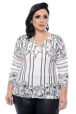 Blusa Plus Size Sansia