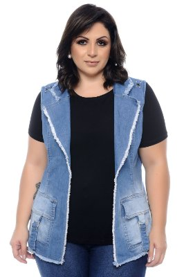 Colete Plus Size Anabel