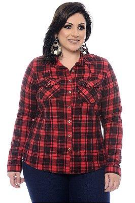 Camisa Xadrez Plus Size Rayna