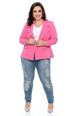 Calça Jeans Plus Size Benyla