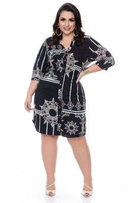 Chemissier Crepe Plus Size Dundee