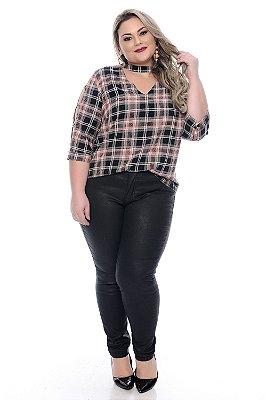 Calça Cigarrete Plus Size Monika