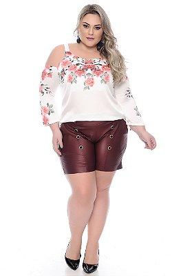 Shorts Plus Size Floriana
