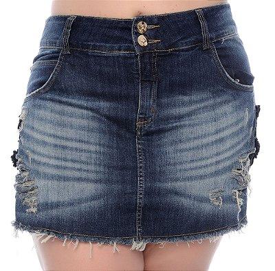 Shorts Saia Jeans Plus Size Nia