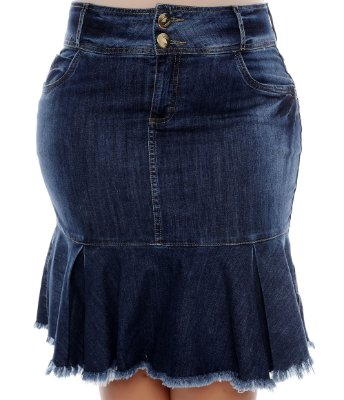 Saia Jeans Plus Size Broome