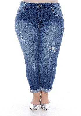 Calça Jeans Plus Size Eze